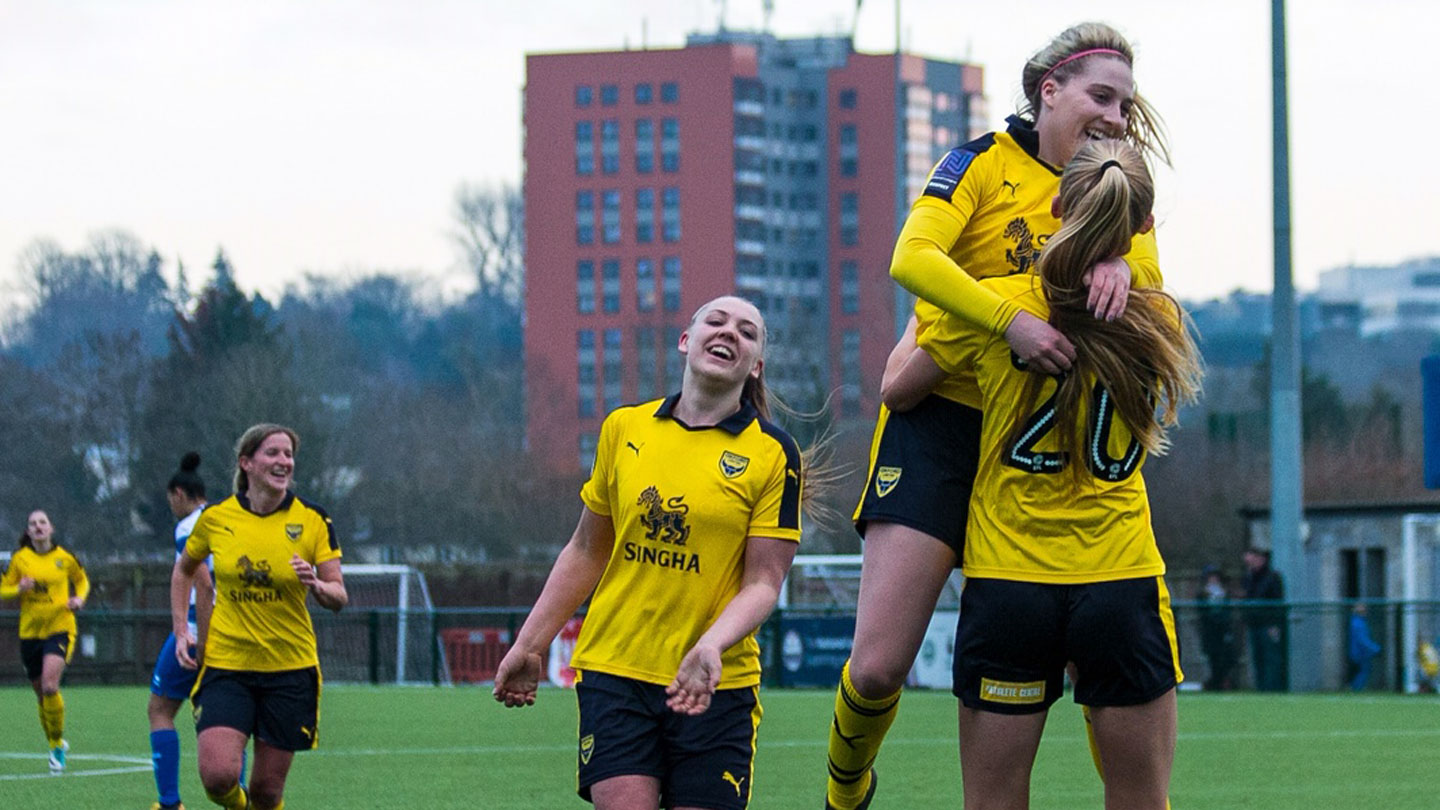 Magnificent Seven For Oxford United Women