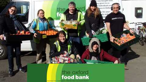 Help the Oxford Food Bank