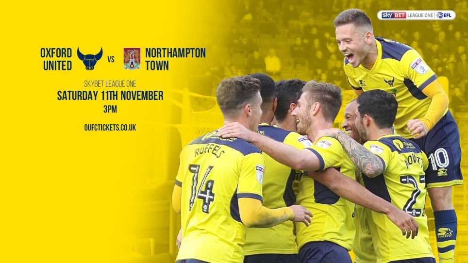 89be6f40bbf PREVIEW Oxford United v Northampton Town
