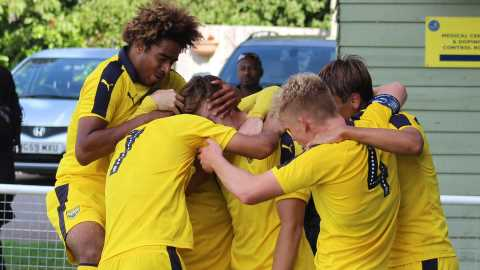 Youth Team Take On Stevenage