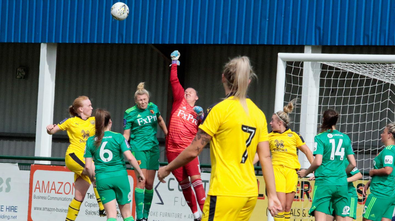 Women Take On Pompey