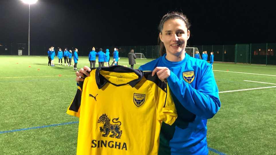aedff3059b6 Oxford United Women Sign Gemma Sims